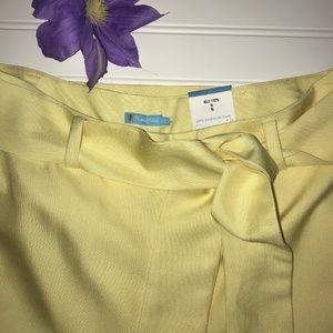 J. McLaughlin Pants - 📣 SALE‼️ NWT J McCLOUGHLIN 100% SILK LINED PANTS